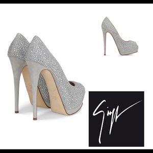 giuseppe zanotti • NEW • crystal heels